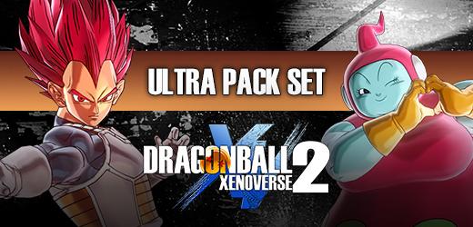 DRAGON BALL XENOVERSE 2 - Ultra Pack Set (PC) Klíč Steam (PC)