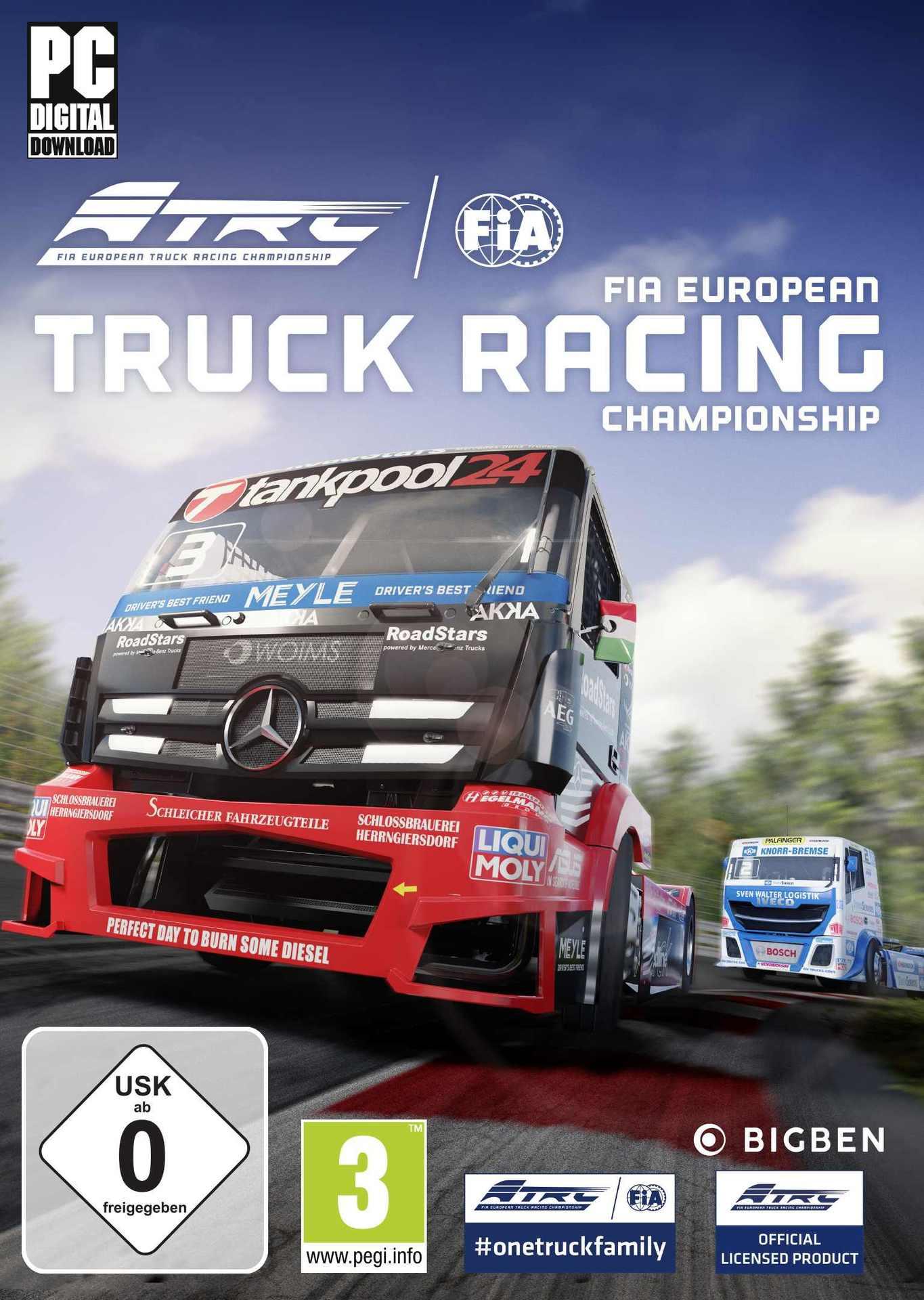 FIA European Truck Racing Championship (PC) Klíč Steam (PC)