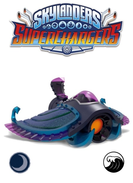 Figurka Skylanders Superchargers: Sea Shadow (PC)