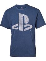 Tričko PlayStation - Faux Denim Logo (velikost XXL) (PC)