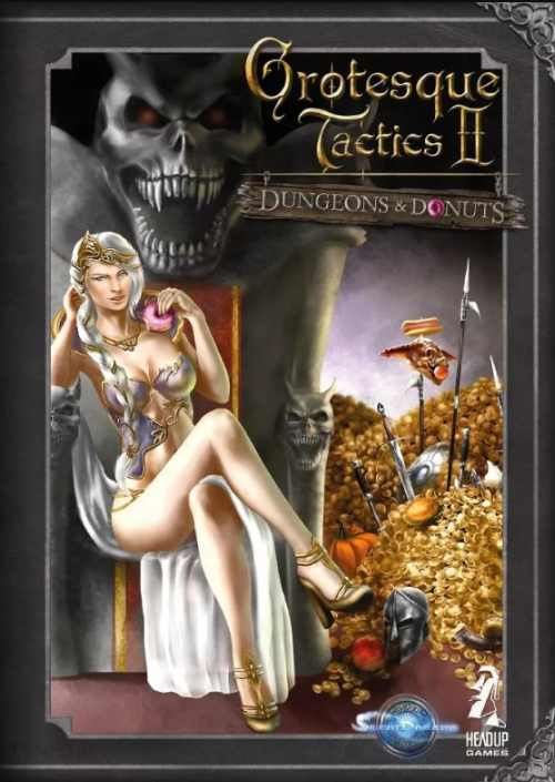 Grotesque Tactics 2 – Dungeons and Donuts (PC) Klíč Steam (PC)