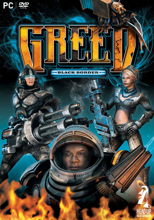 Greed: Black Border (PC) Klíč Steam (PC)
