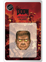 Odznak Doom - Face (limitovaný)