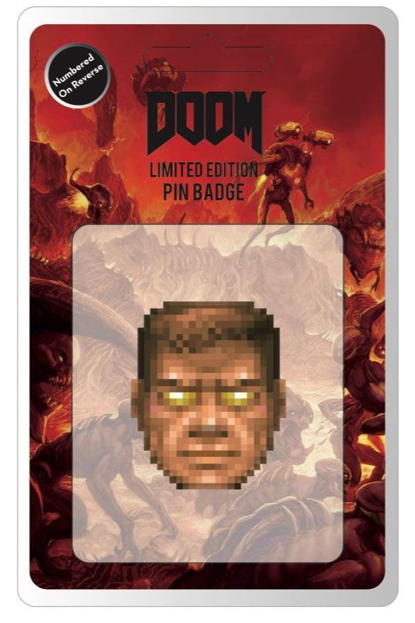 Odznak Doom - Face (limitovaný) (PC)