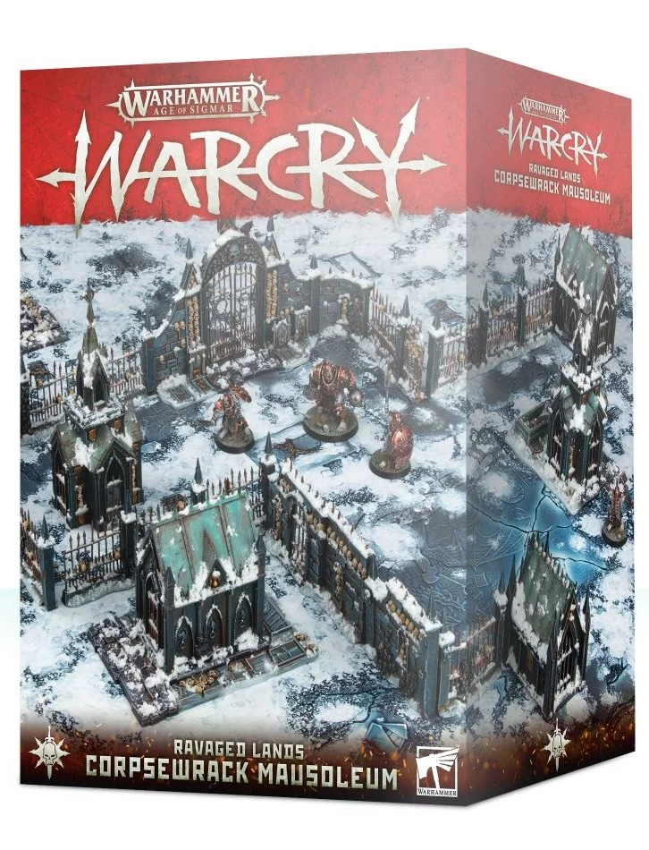 Warhammer Age of Sigmar: Warcry - Ravaged Lands Corpsewrack Mausoleum (terén) (PC)