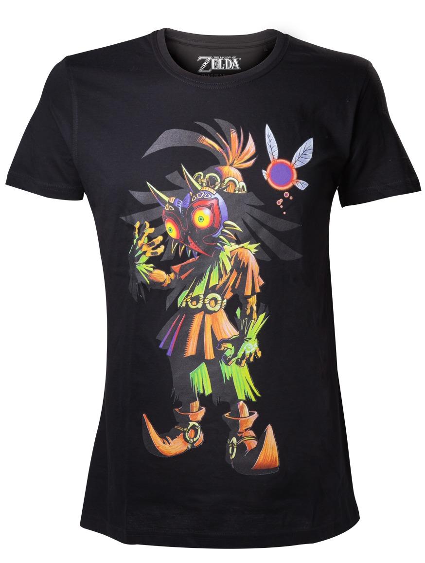 Tričko The Legend of Zelda - Majoras Mask Skull Kid (velikost M) (PC)