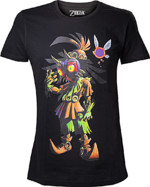 Tričko The Legend of Zelda - Majoras Mask Skull Kid (velikost XL) (PC)