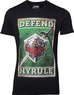 Tričko The Legend of Zelda - Propaganda Sword and Shield (velikost XXL) (PC)