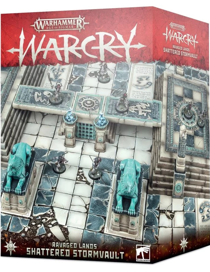 Warhammer Age of Sigmar: Warcry - Ravaged Lands: Shattered Stormvault (terén) (PC)