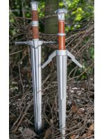 Meč Zaklínač 3: Divoký hon - Steel and Silver