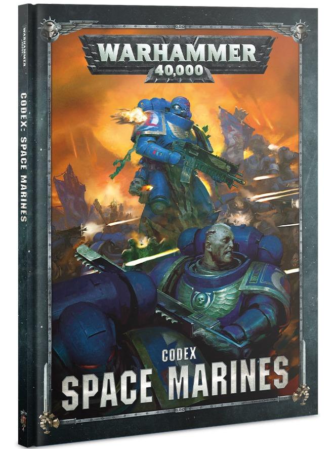 Kniha W40k: Codex: Space Marines (2019) (PC)