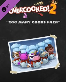 Overcooked! 2 Too Many Cooks Pack (PC DIGITAL) (PC)