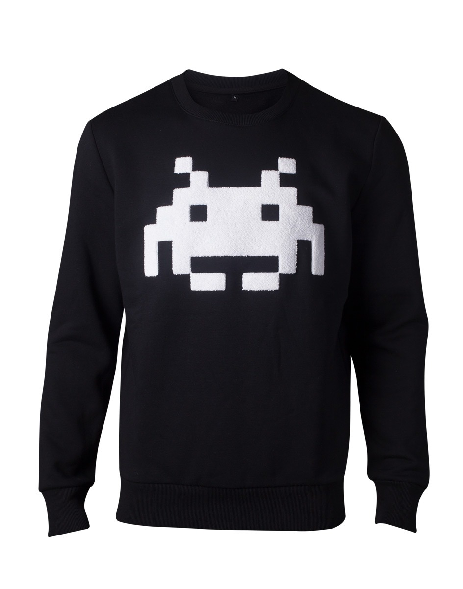 Mikina Space Invaders - Chenille Invader (velikost M)  (PC)