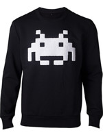 Mikina Space Invaders - Chenille Invader