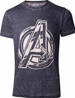 Tričko Avengers - Vintage Jack Kirby Logo (velikost XL) (PC)