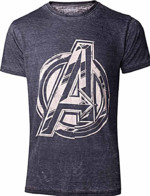 Tričko Avengers - Vintage Jack Kirby Logo (velikost XXL) (PC)