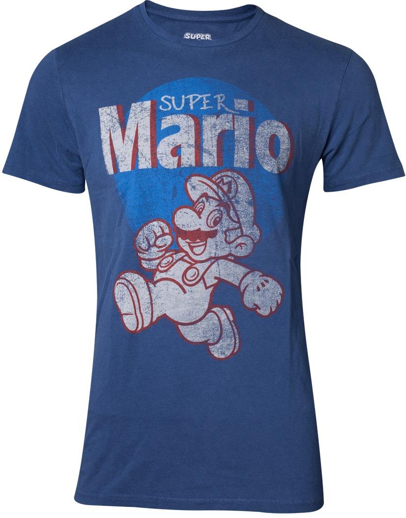 Tričko Super Mario - Super Mario Running Vintage (velikost S) (PC)
