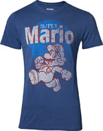 Tričko Super Mario - Super Mario Running Vintage (velikost L)