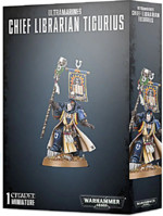W40k: Chief Librarian Tigurius