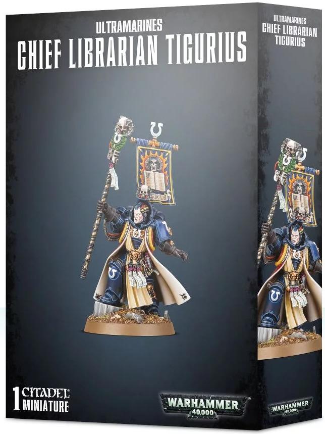 W40k: Chief Librarian Tigurius (1 figurka) (PC)