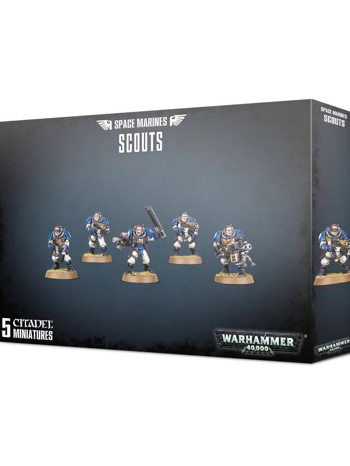W40k: Space Marines - Scouts (5 figurek) (PC)