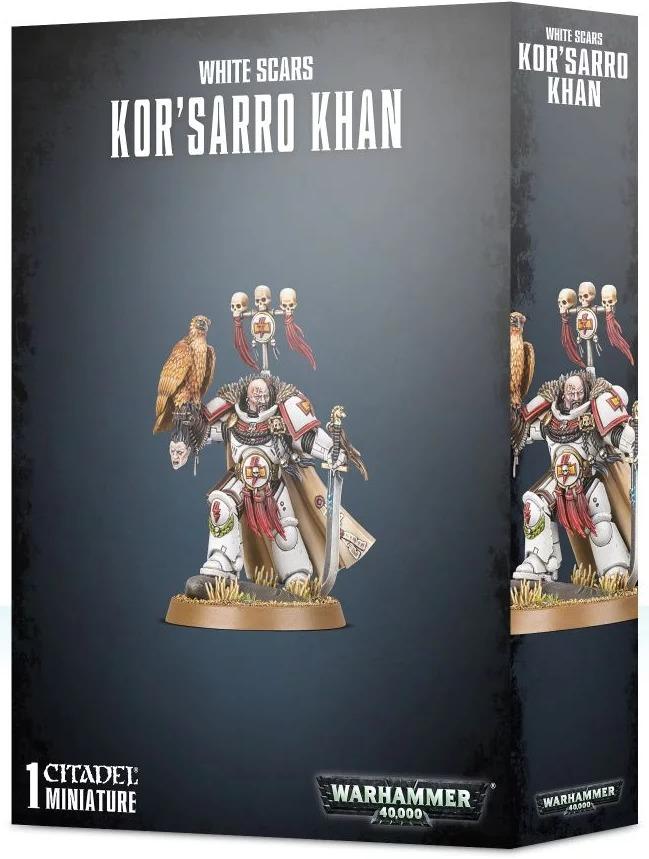 W40k: White Scars - Korsarro Khan (1 figurka) (PC)