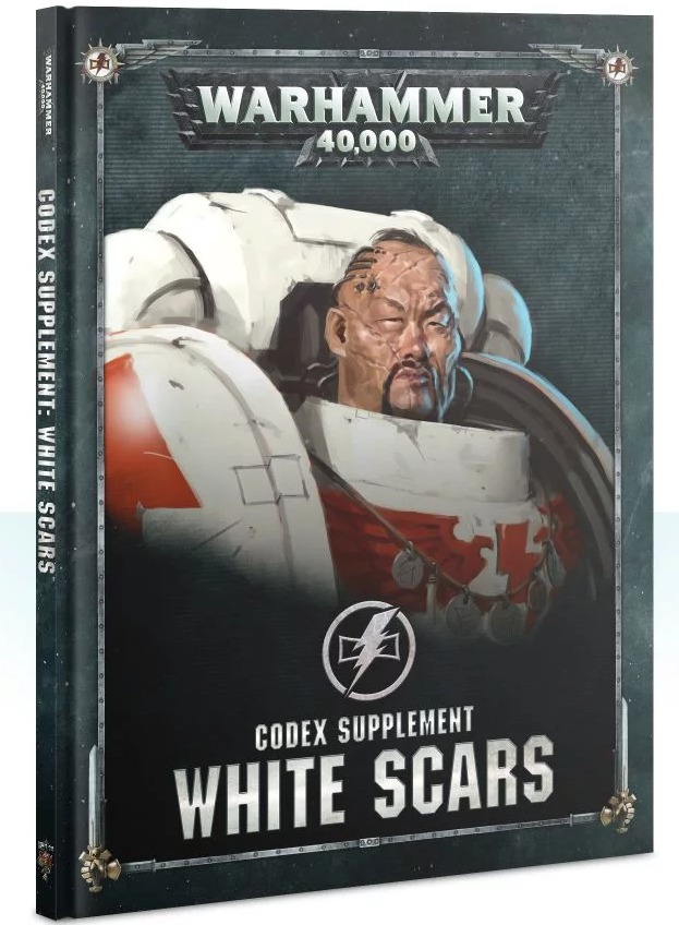 Kniha W40k: Codex: White Scars (2019) (PC)