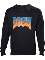 Mikina Doom - 2 Tone Logo (velikost XL)