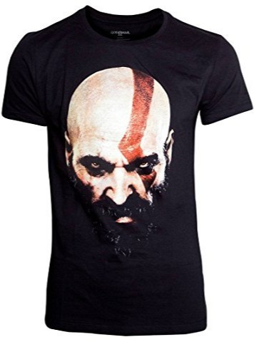 Tričko God of War - Kratos Face (velikost M) (PC)