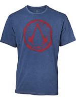 Tričko Assassins Creed - Faux Denim Logo (velikost M) (PC)