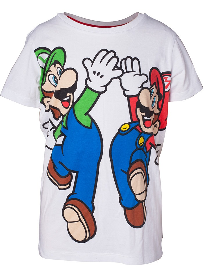 Tričko dětské Super Mario - Mario and Luigi (velikost 86/92) (PC)