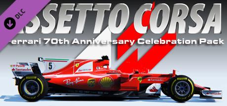 Assetto Corsa - Ferrari 70th Anniversary Pack (PC) Steam (PC)
