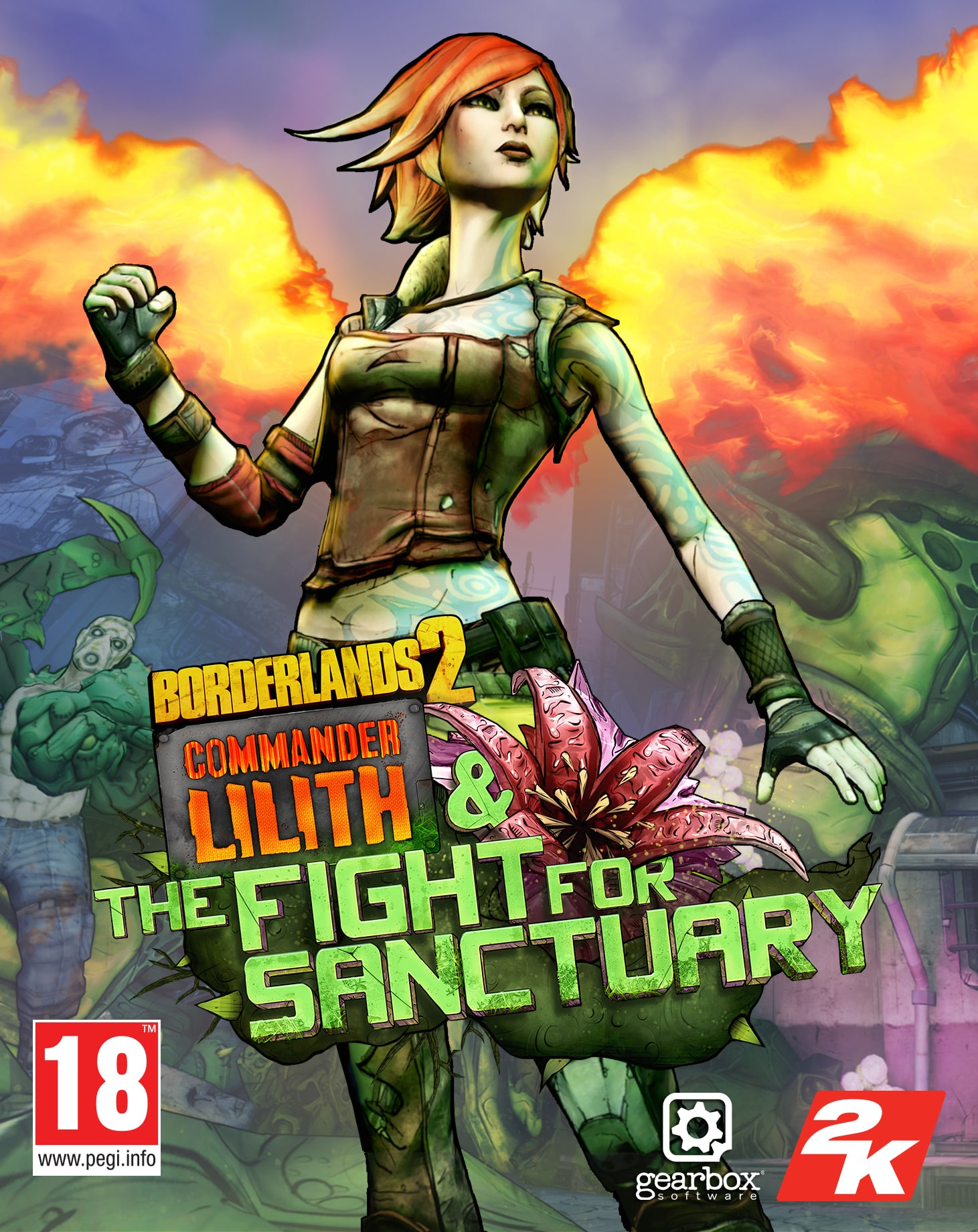 Borderlands 2: Commander Lilith & the Fight for Sanctuary (PC) Klíč Steam (PC)