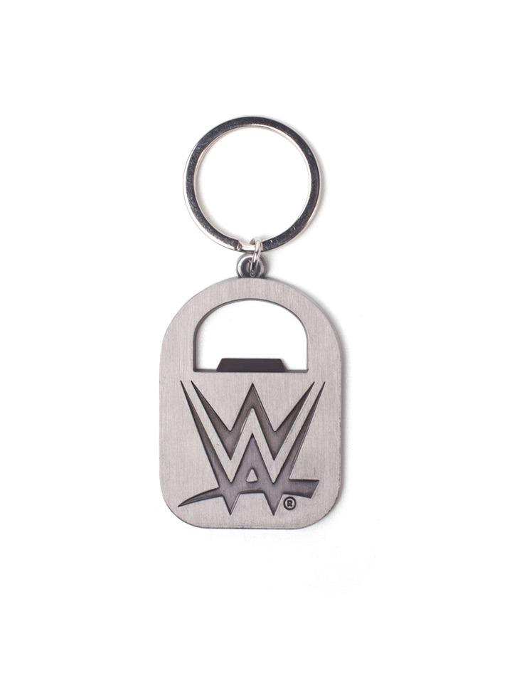 Klíčenka WWE - Logo s otvírákem (PC)