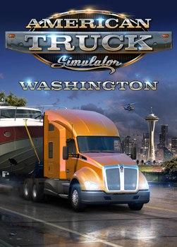 American Truck Simulator - Washington (PC) Klíč Steam (PC)