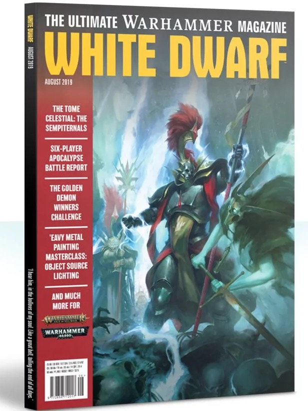 Časopis White Dwarf 2019/08 (PC)