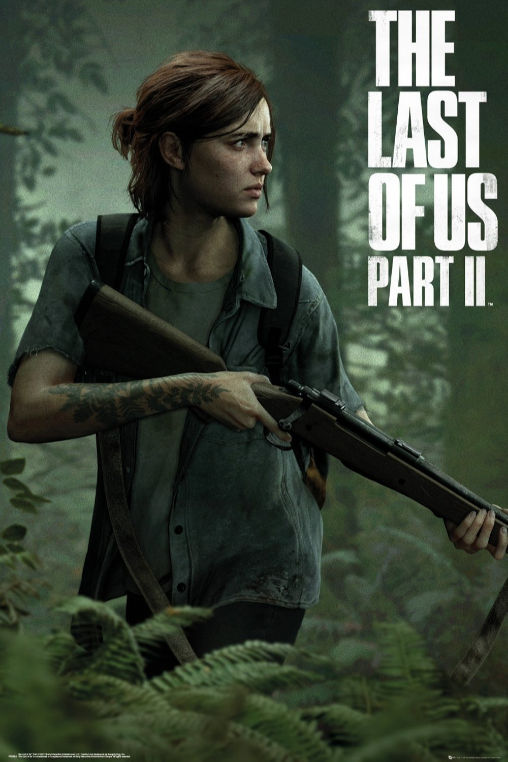 Plakát The Last of Us 2 - Ellie (PC)