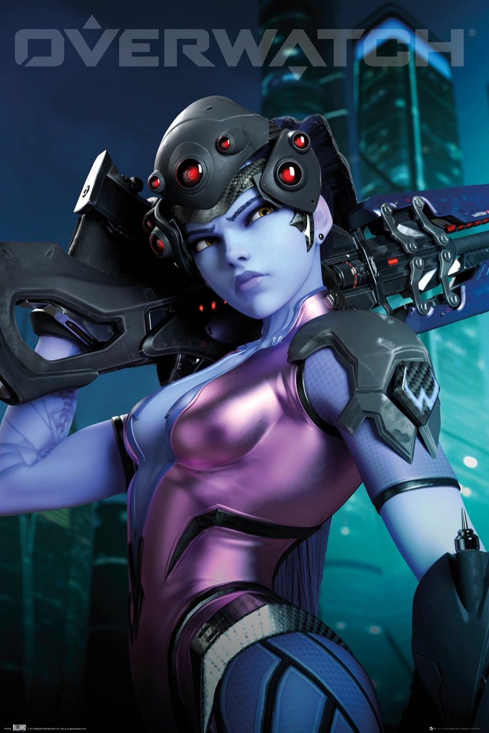 Plakát Overwatch - Widow Maker (PC)