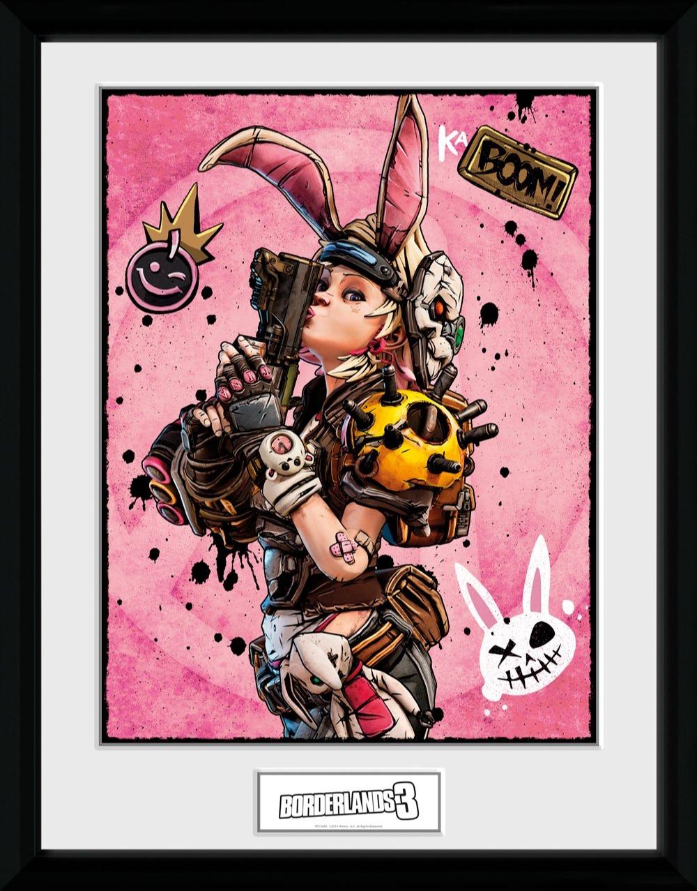 Zarámovaný plakát Borderlands - Tiny Tina (PC)