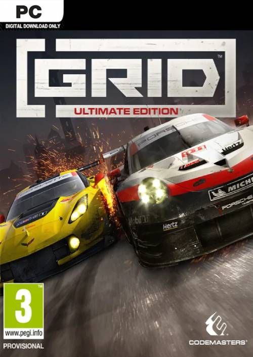 GRID Ultimate Edition (PC) Klíč Steam (PC)