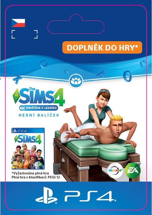 The Sims 4: Návštěva v lázních (PS4 DIGITAL)