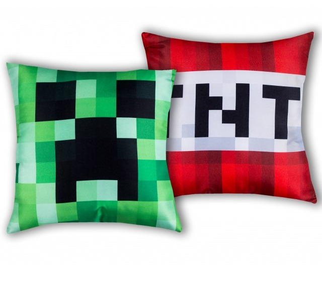 Polštář Minecraft - Creeper TNT (PC)