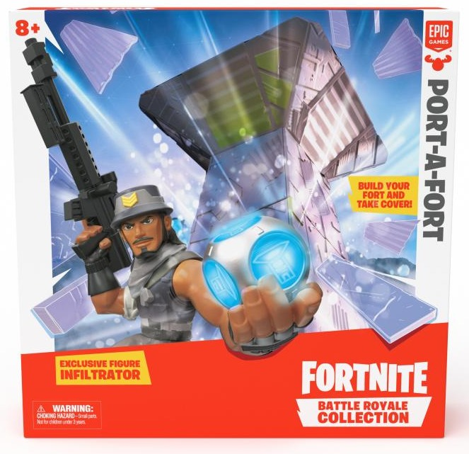 Figurka Fortnite Battle Royale Collection (pevnost Port-a-Fort) (PC)