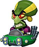 Figurka Crash Bandicoot - Nitros Oxide (Funko Minis)
