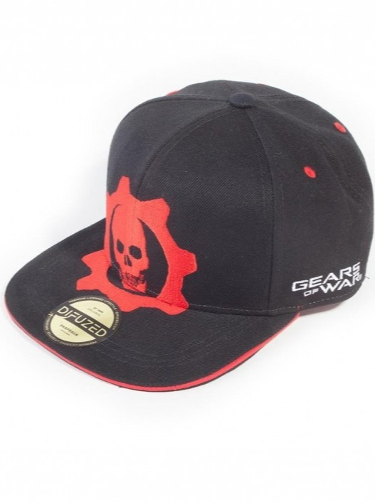 Kšiltovka Gears of War - Red Helmet Snapback (PC)