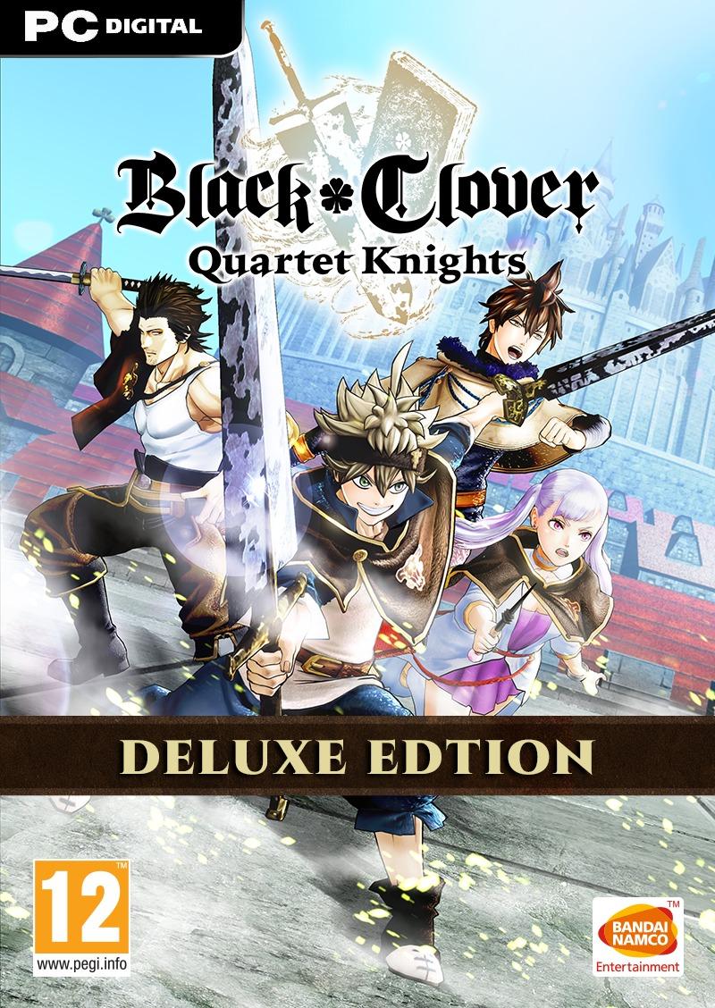 BLACK CLOVER: QUARTET KNIGHTS Deluxe Edition (PC) Steam (PC)