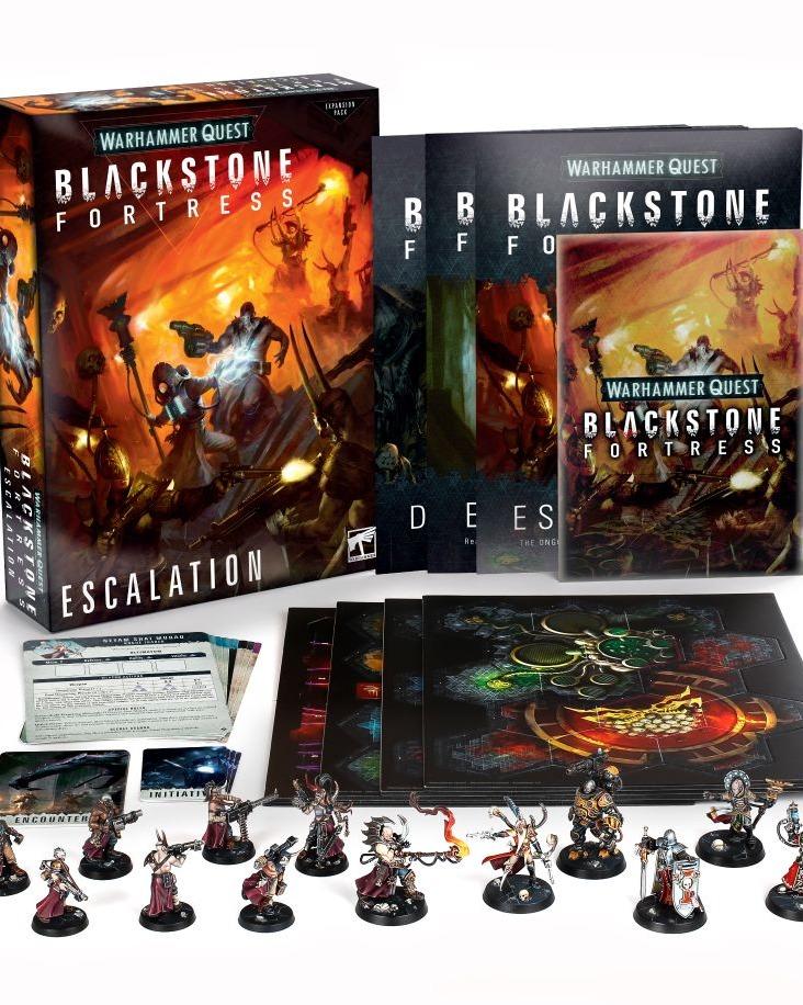 Desková hra Warhammer Quest: Blackstone Fortress - Escalation (rozšíření) (PC)
