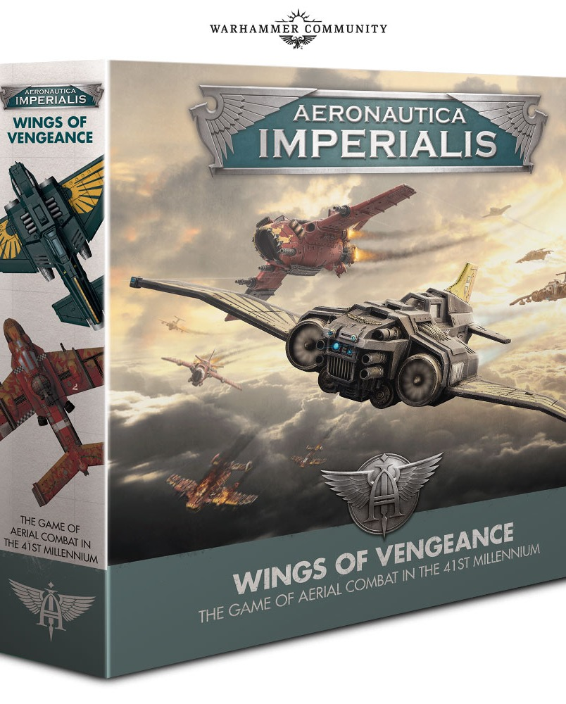 Desková hra Aeronautica Imperialis: Wings of Vengeance (starter set) (PC)