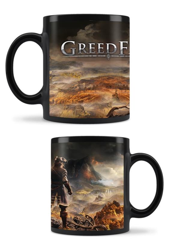 Hrnek Greedfall (Měnící hrnek) (PC)
