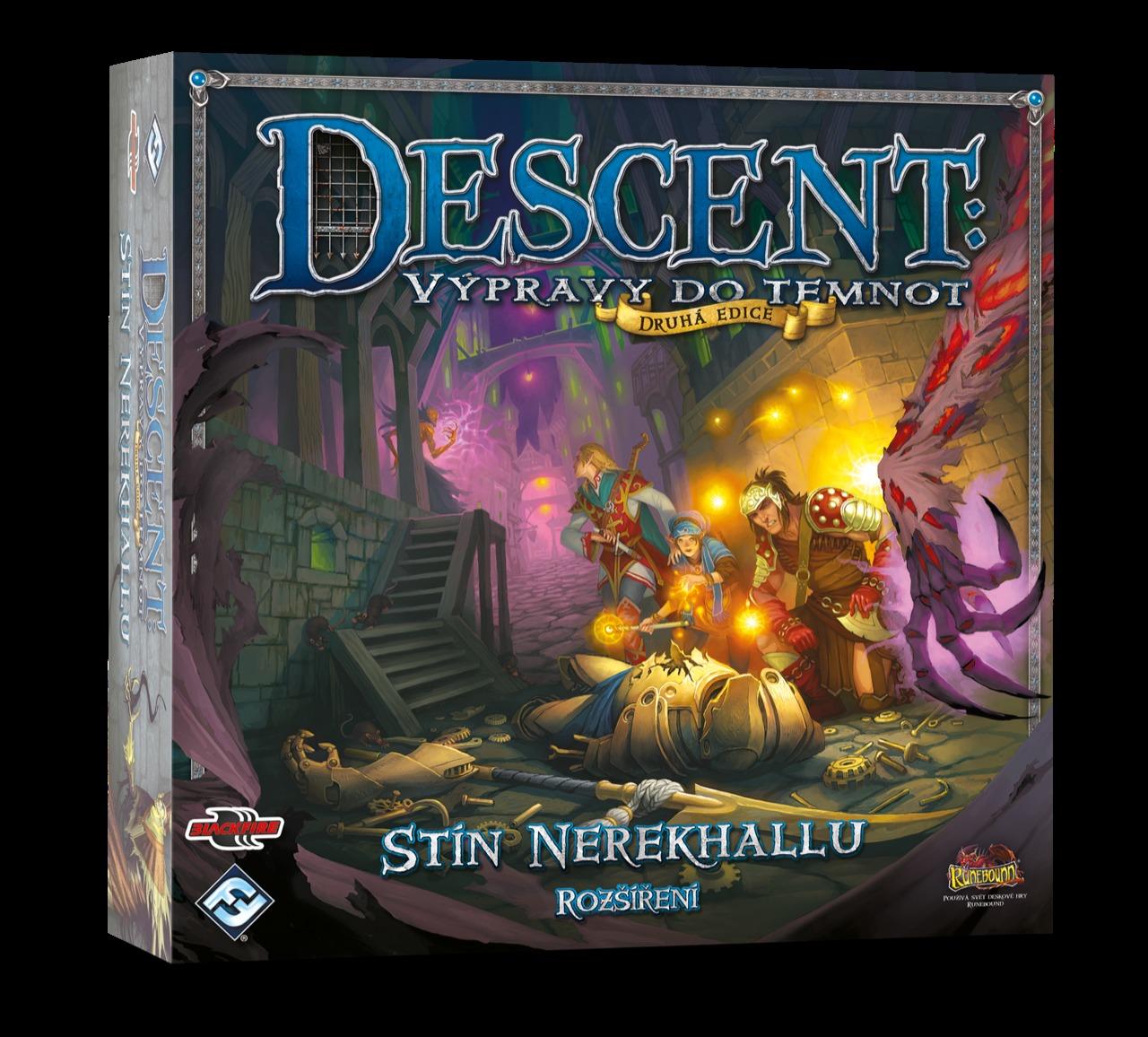 Desková hra Descent: Stín Nerekhallu - CZ (rozšíření) (PC)